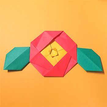 正月の折り紙まとめ!子供も簡単手作りの立体や壁面飾りの作り方 | セツの折り紙処