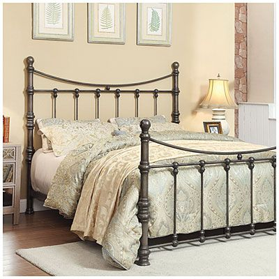 Best 300 It S A Bit Much Francesca Metal Queen Bed At Big Lots 400 x 300