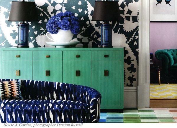 #houseofdecor | The Decorista-Domestic Bliss: Style-icious Sunday: the MANY shades of MINT