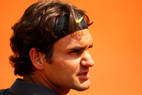 Roger Federer Photo - 2012 French Open - Day Four
