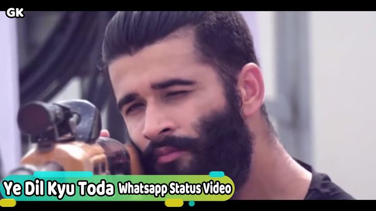 Ye Dil Kyu Toda Whatsapp Status Video GK Love Song & Video youtu.be/knXi3EITAbg …