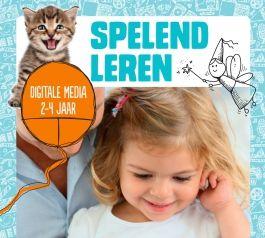 Spelend leren - Tips over het gebruik van digitale media door kinderen van 2-4 jaar. Digitale prentenboeken en kinderboekenapps dragen bij aan voorleesplezier en taalontwikkeling.