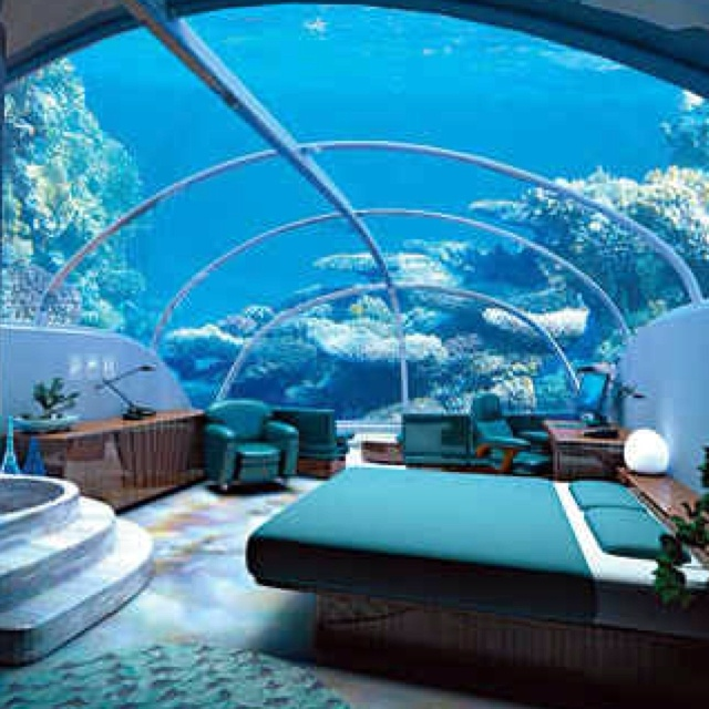 Matrimonio Bed Ocean : Under the sea bed room i want to know where this was