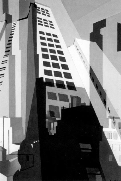Charles Sheeler 'New York No.2' 1951 Oil on Canvas