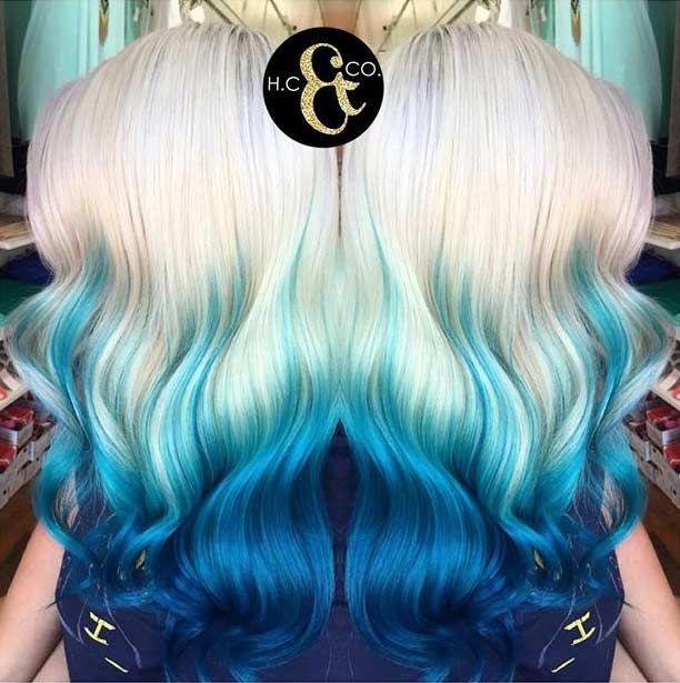 Best 20+ Blue Ombre Hair ideas on Pinterest | Blue hair ...