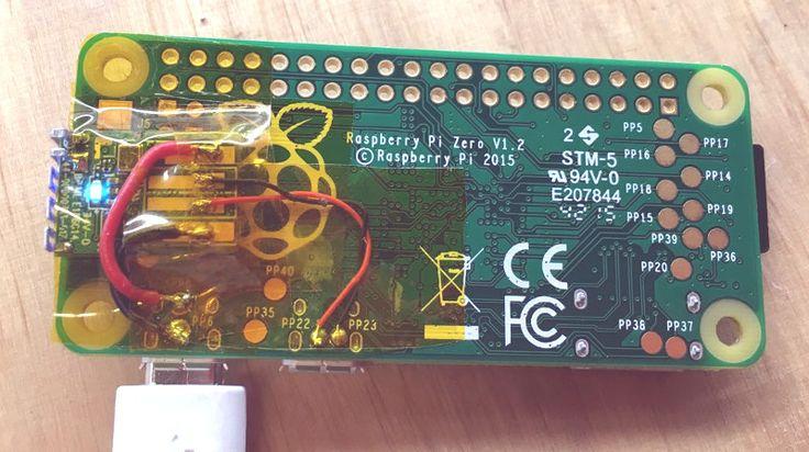 First Raspberry Pi Zero Hack PiggyBack WiFi – Rp1 Wagner Electric Motor Wiring Diagram
