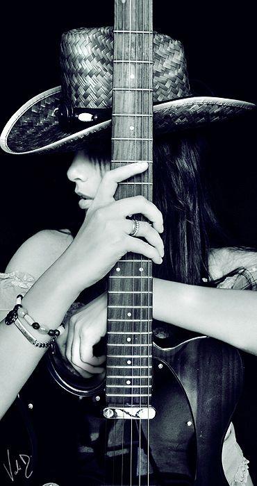Midnight Cowgirl by ValentinaKallias.deviantart.com on @deviantART