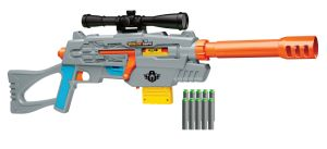 The best Nerf sniper rifle isn't from Hasbro--it's from Buzz Bee.: Buzz Bee Air Warriors Ultra-Tek Snipe