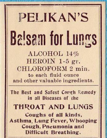 Pelikan's Balsam for Lungs.