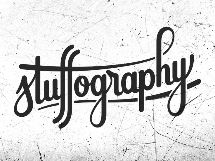 Stuffography logo design by bijdevleet