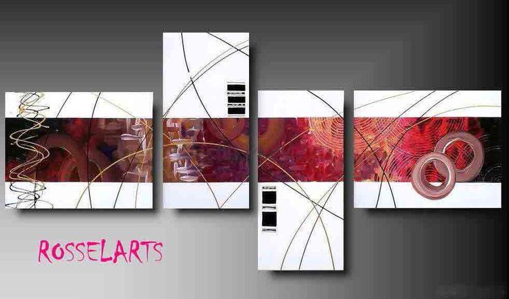 Cuadros Moderno Pinturas Abstractos Modernos Decorativos