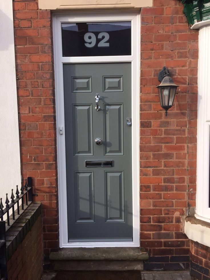 Victorian Style Composite Door Grey Doors Pinterest