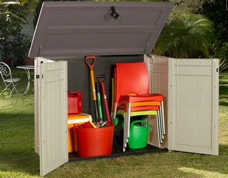 17 best images about plastic sheds on pinterest backyard for Lawn mower shed
