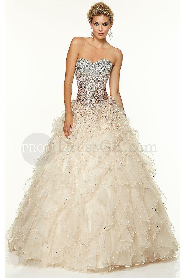39 best White Dresses images on Pinterest | Formal prom dresses ...