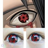 "Wish   Coloured Contact Lenses ""Mangekyou Sharingan"" Manga Eyes Cosplay"