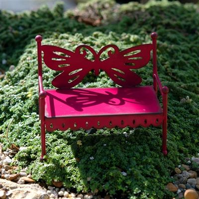 Whimsical Garden Bench For Your Fairy Garden.