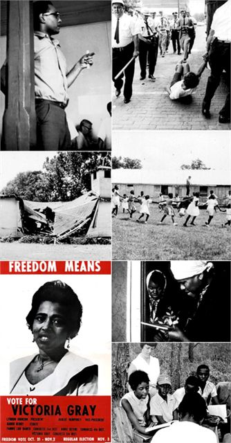 Mississippi 1964 | Historic images during Freedom Summer 1964. Freedom Summer was a Nonviolent effort by Civil Rights Activists to integrate Mississippi's segregated political system during 1964. In late,1963, the (SNCC) and (CORE) recruited white volunteers from northern colleges, to work in Mississippi during the summer. They helped African-American residents try to register to vote, establish a new political party, and learn about history and politics in newly-formed Freedom Schools.