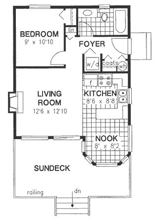 Astonishing 17 Best Images About Small Floor Plans On Pinterest Small Houses Largest Home Design Picture Inspirations Pitcheantrous