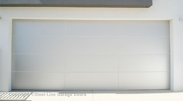 Steel-Line aluminium composite garage door