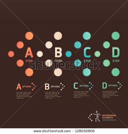 Modern dot arrow style step up options banner. Vector illustration. can be used for workflow layout, diagram, number options, web design, infographics. by graphixmania, via ShutterStock