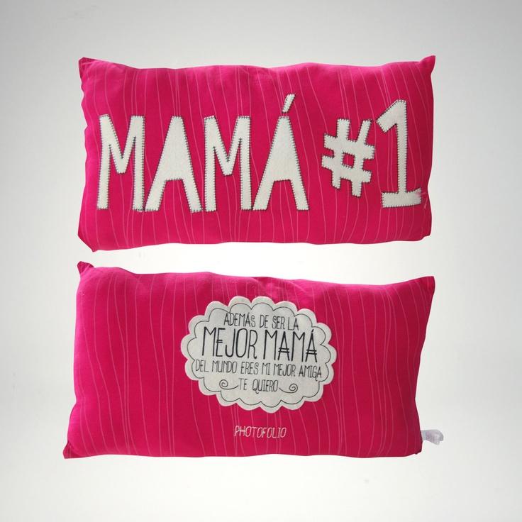 Dia de las Madres: Cojin Patch #photofolio #diadelasmadres #cojin #mothersday