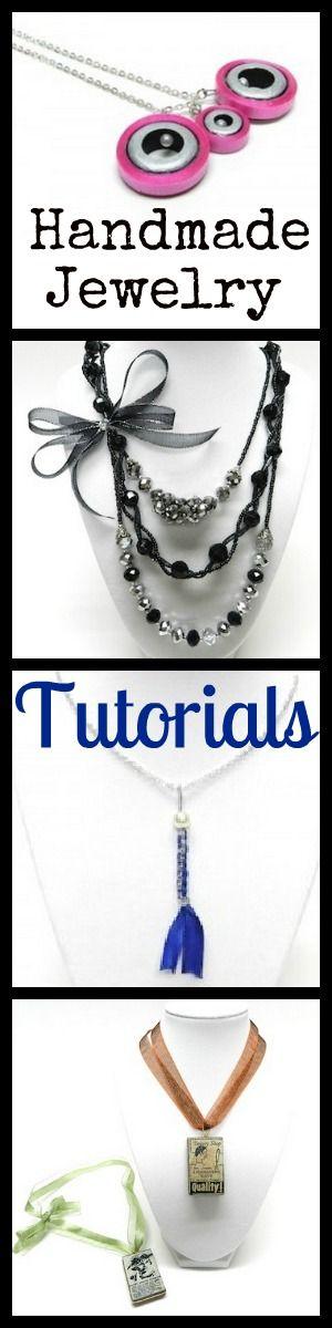 Top DIY 4 Handmade Jewelry Tutorials-http://bowdabrablog.com/2012/05/07/formal-necklace-3-row-with-mini-bowdabra-bow/