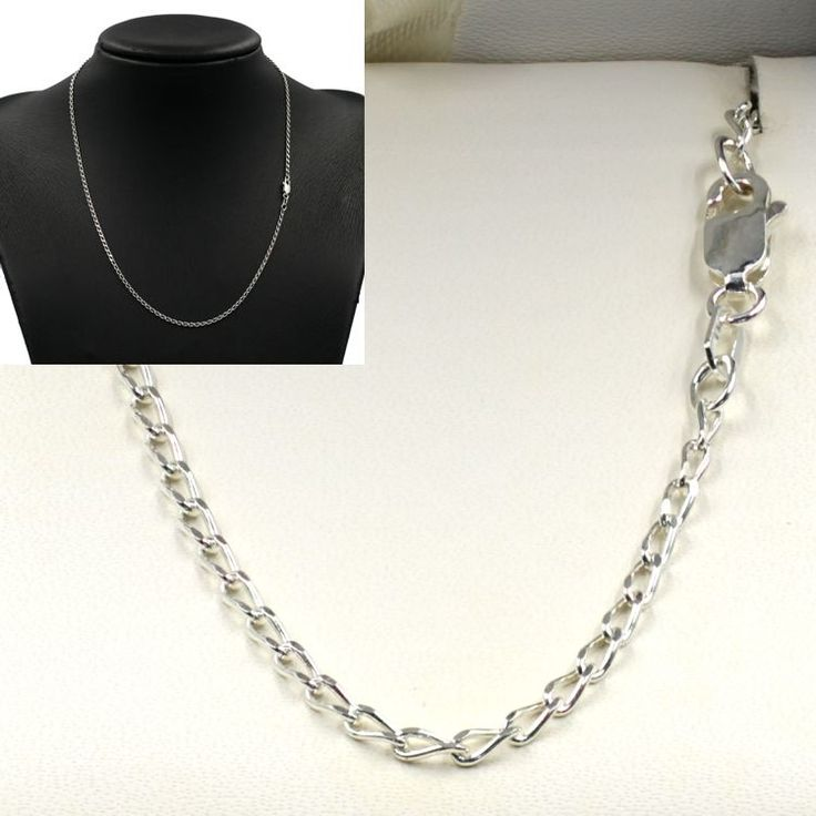 Buy our Australian made Sterling Silver Long Open DC Curb Chain - MM-LDC-0003 online. Explore our range of custom made chain jewellery, rings, pendants, earrings and charms.