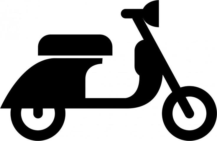 Flockfolie: scooter