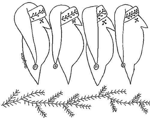 Free Primitive Craft Patterns | Free Download Free Primitive Christmas Patterns