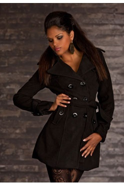 1000 images about manteau et veste pour femme classe 2014 on pinterest sexy trench and blazers. Black Bedroom Furniture Sets. Home Design Ideas