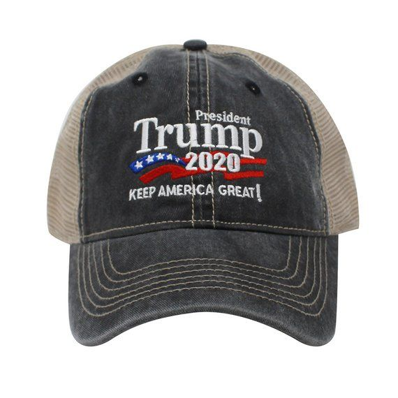 b1a87196679 Trump 2020 Keep America Great Campaign Embroidered Hat