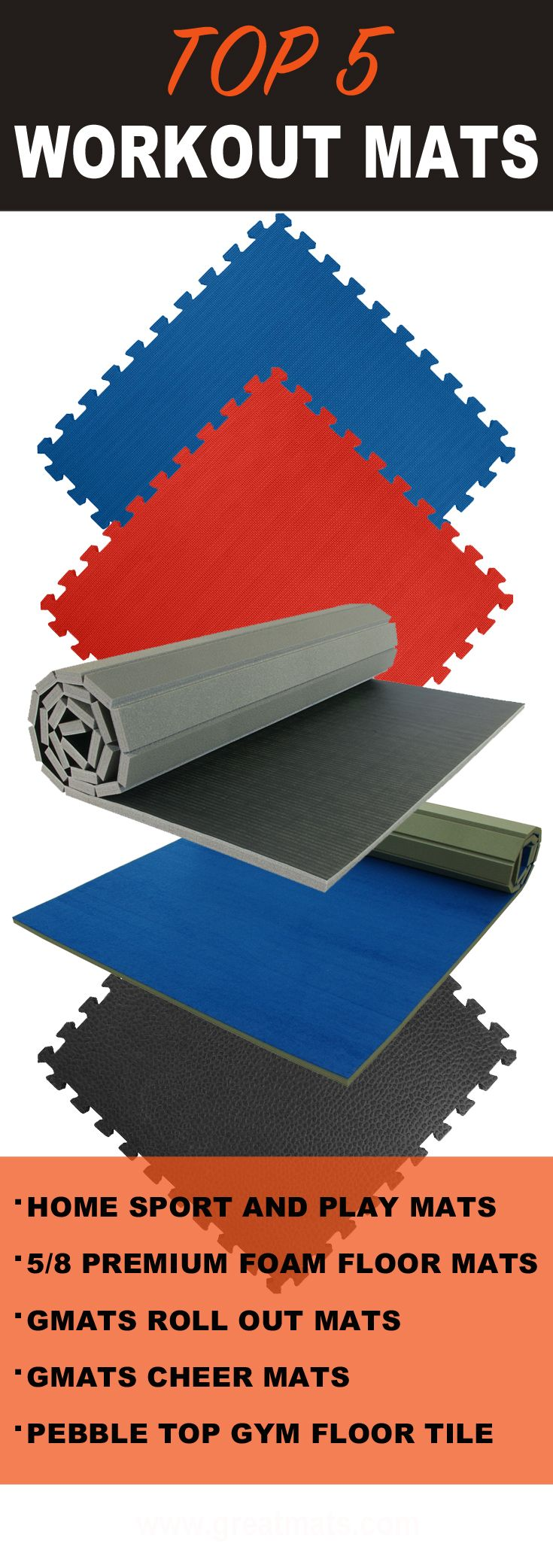 mat tumbl for mats cheer gymnastics pin cheerleading home flexi roll trak