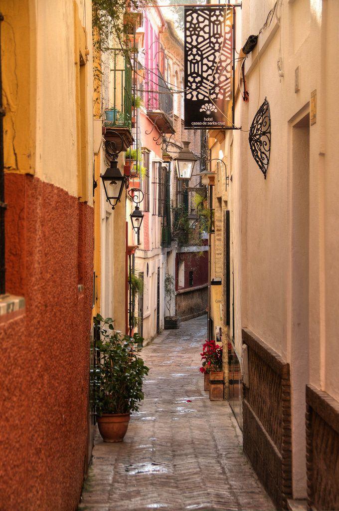 Ana fue a Sevilla por seis meses. Ella vivió con la familia de Marco. Ella le gusta Sevilla porque ella tiene muchas amigos y estaba contenta.