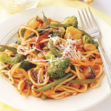 Spaghetti Primavera | Main Course Meal, Casseroles | Pinterest