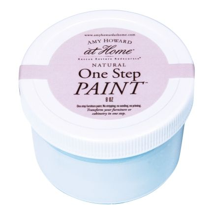 Amy Howard At Home 8 Oz French Blue One Step Chalk Based Paint (AH935FB) - Specialty Paints - Ace Hardware