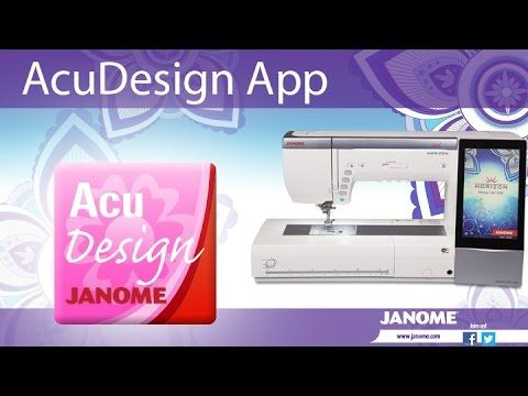 Introduction to AcuDesign Embroidery App - YouTube