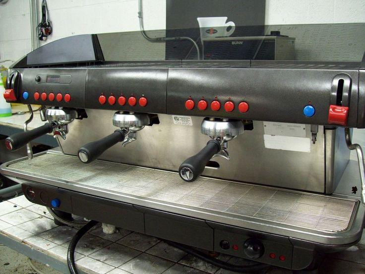 Faema 3 Group Diplomat Refurbished Electronic E91 Commercial Espresso Machine #FAEMA