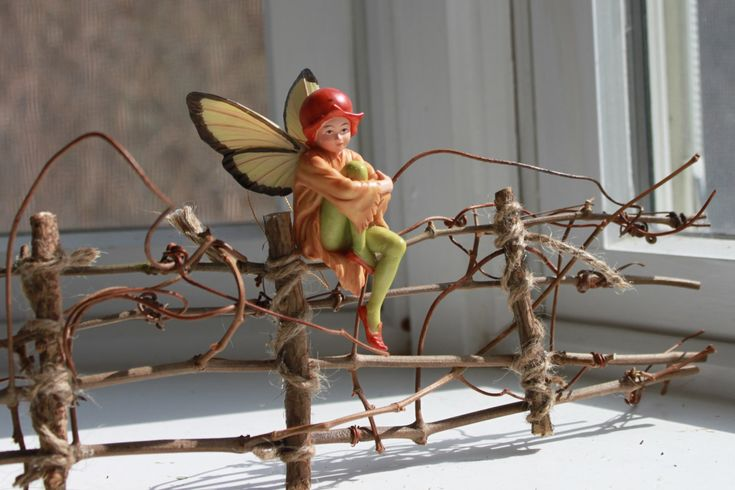 Fairy Garden Fence Handcrafted by Olive