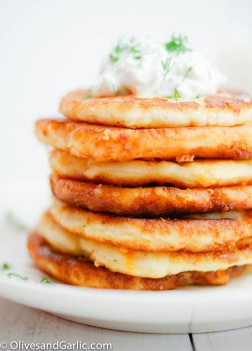Cheesy Potato Pancakes [RECIPE]