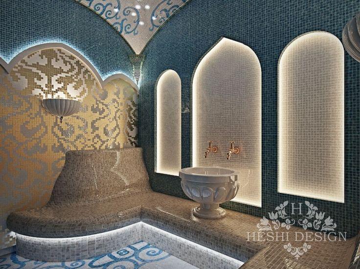 Дизайн интерьера хамама в доме