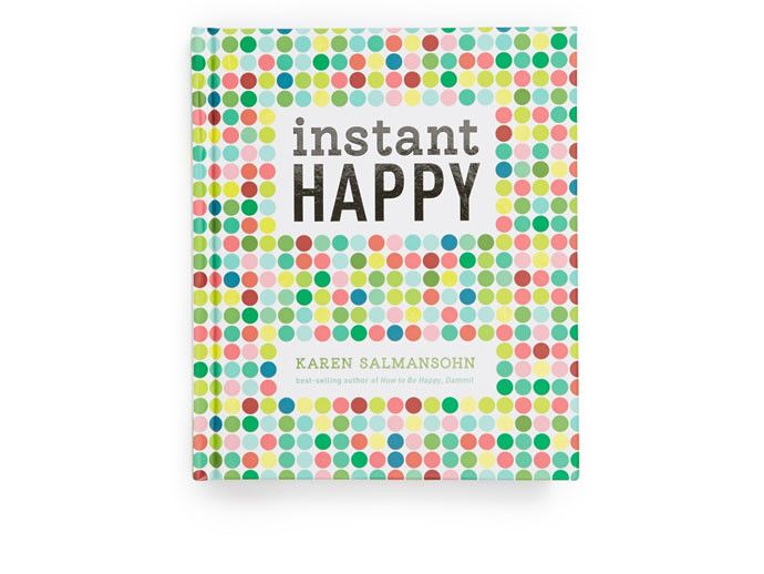 Instant Happy Book. Love this as a gift idea.