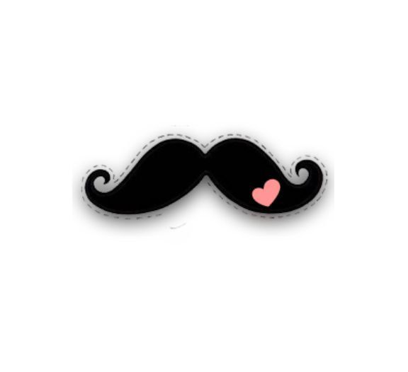 2 Mustache with heart Temporary skin Tattoos, Finger, Toes, Wrist, Hand, Arm, cheek, ears, earring, leg, knee, I mustache you a question by PolkaDotzPrints on Etsy