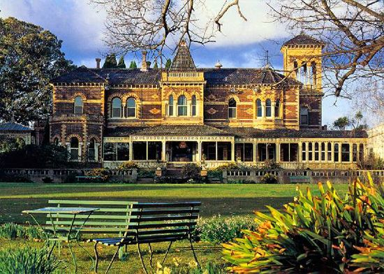 Rippon Lea Estate in Melbourne, one of its 'gold boom' mansions