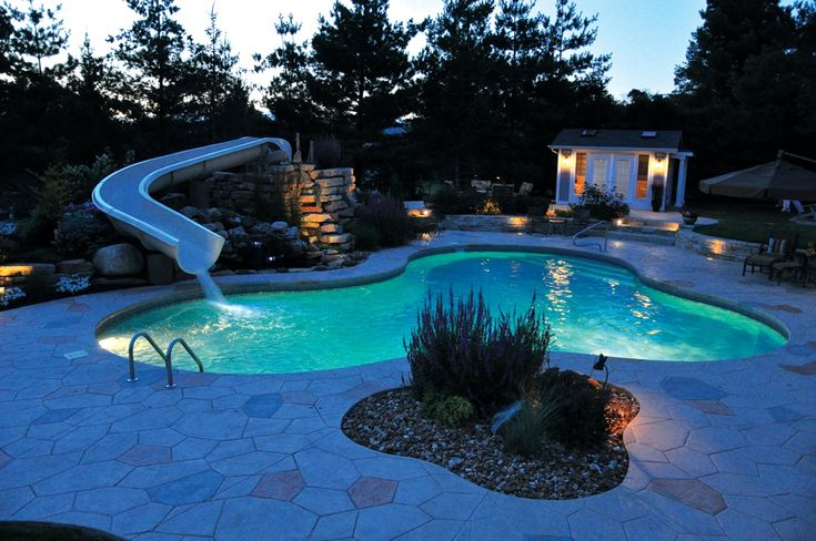 1000 Ideas About Above Ground Pool Slide On Pinterest