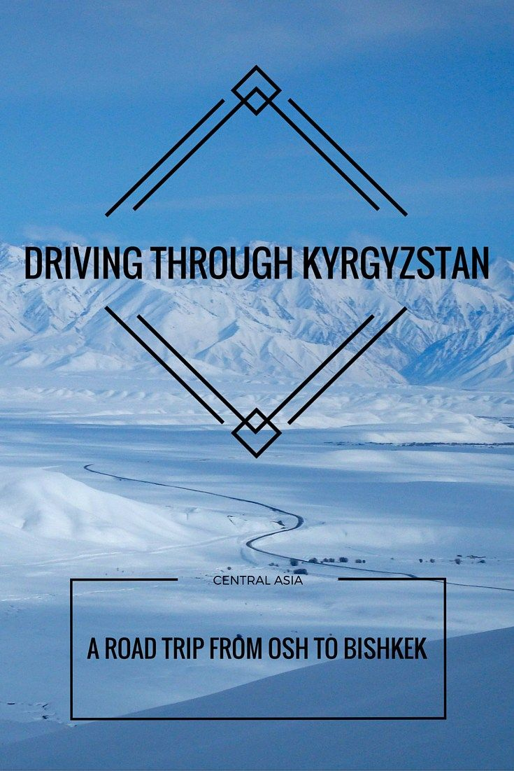 A simple Kyrgyzstan roadtrip between Osh to Bishkek led to detours, chance encounters, new friends, and a lesson in why there are so many tire shops!