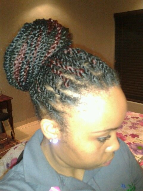Did the twist myself....2days