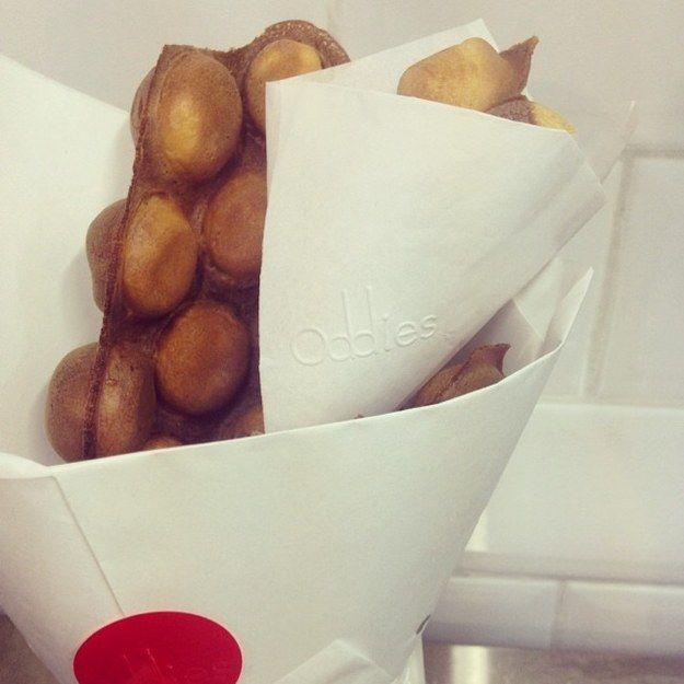Love gai dan zhai egg waffles?