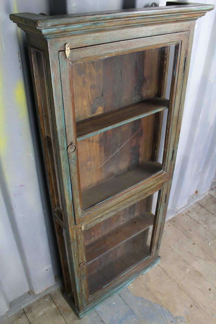 Aged Display Cabinet