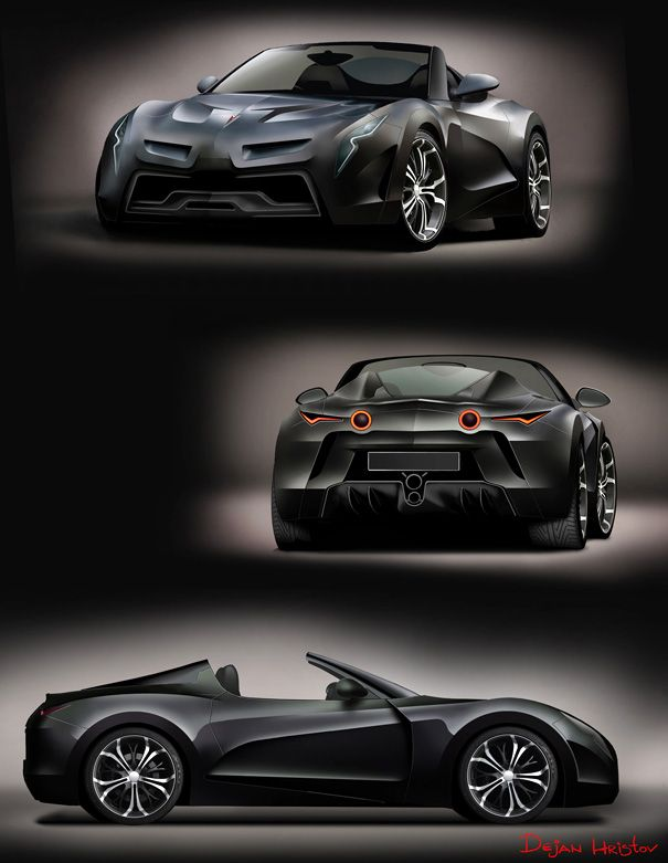 Pontiac Solstice 2.0?  reminds me of the bat mobile from the back. :)