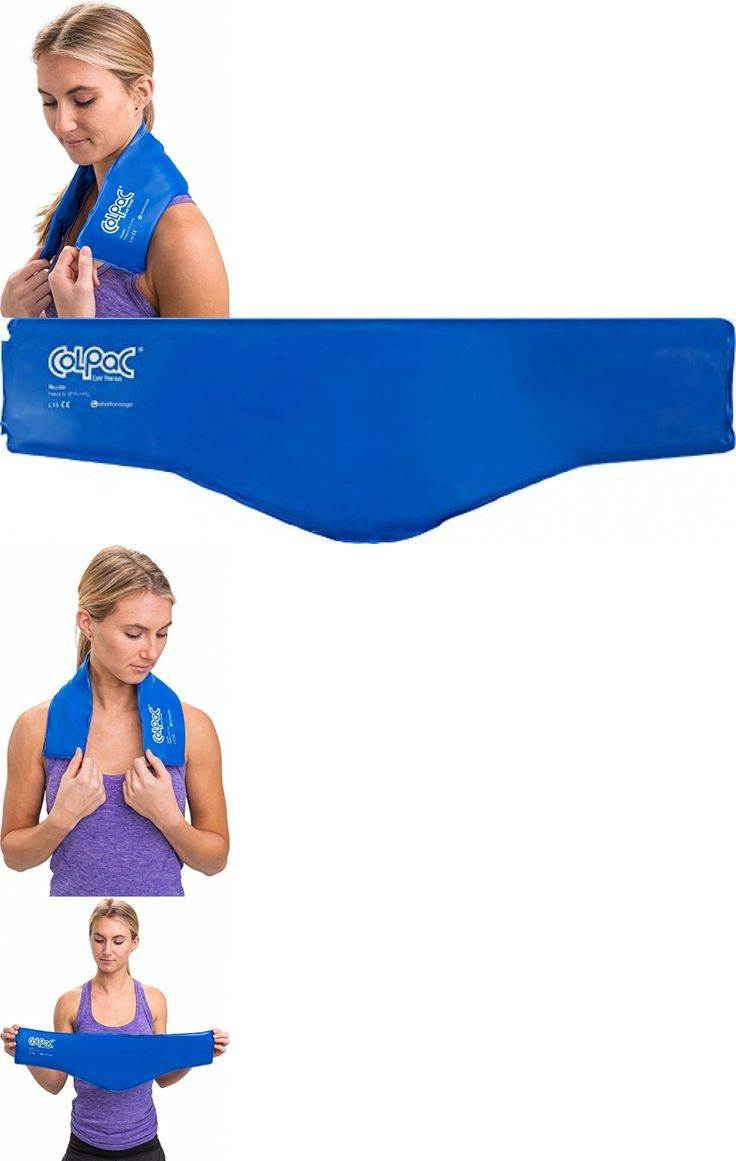Cold and Hot Packs and Wraps: Cold Therapy Pad Reusable Gel Ice Pack Sports Injury Pain Relief For Neck No Tax -> BUY IT NOW ONLY: $30.39 on eBay!